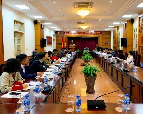 TIỂU BAN TUYÊN TRUYỀN - VĂN HÓA   THUỘC ỦY BAN QUỐC GIA ASEAN 2020 HỌP PHIÊN THỨ NHẤT