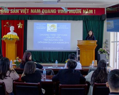 Ban Tổ chức ATF 2019 triển khai Chương trình tập huấn Liên lạc viên/  tình nguyện viên phục vụ Diễn đàn Du lịch ASEAN 2019
