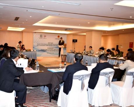 Hội thảo tham vấn xây dựng bộ chỉ số văn hóa cho một số ngành công nghiệp văn hóa ở Việt Nam