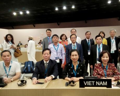 Thứ trưởng Đặng Thị Bích Liên tham dự Kỳ họp lần thứ 42  Ủy ban Di sản Thế giới
