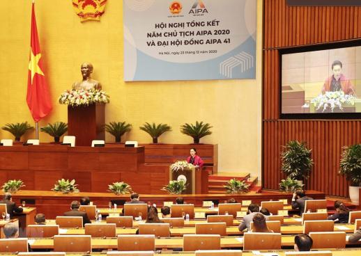 Hội nghị tổng kết Năm Chủ tịch AIPA 2020 và Đại hội đồng AIPA 41