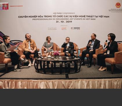 """Hội thảo """"Chuyên nghiệp hoá trong tổ chức các sự kiện nghệ thuật tại Việt Nam"""""""