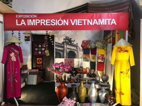 Triển lãm Ấn tượng Việt Nam tại Hội chợ Thủ công mỹ nghệ quốc tế Cuba - FIART 2018