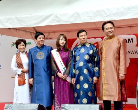 Khai mạc Lễ hội Việt Nam tại Kanagawa năm 2017