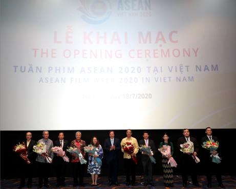 Tuần phim ASEAN 2020 khai mạc trọng thể tại Hà Nội
