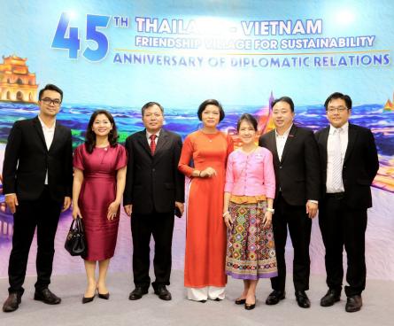 """Khai mạc sự kiện """"Làng Hữu Nghị Thái Lan – Việt Nam – Vì sự phát triển bền vững"""""""