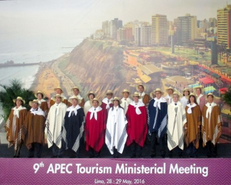MINISTER NGUYEN NGOC THIEN ATTENDED THE 9TH APEC TOURISM MINISTERIAL MEETING 2016 IN LIMA, PERU