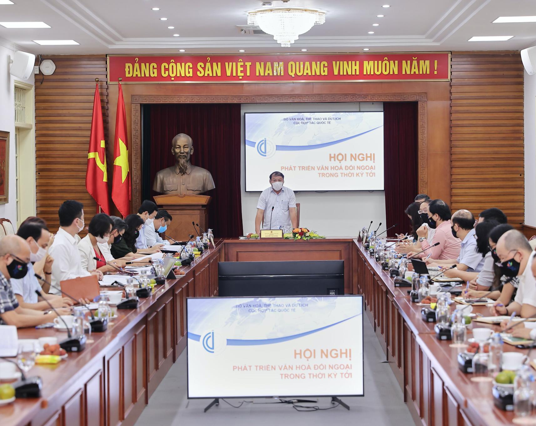 """Đẩy mạnh tính """"toàn diện, chủ động và kiên trì"""" trong triển khai công tác văn hóa đối ngoại của Việt Nam"""