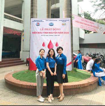 """Chi đoàn Cục Hợp tác quốc tế hưởng ứng chương trình  """"Hiến máu tình nguyện năm 2020"""""""