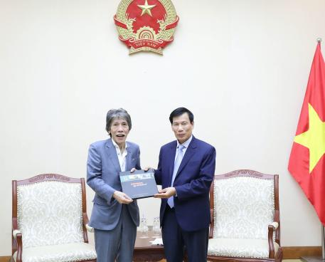 Bộ trưởng Nguyễn Ngọc Thiện  tiếp và làm việc với Chủ tịch kiêm CEO Tập đoàn Legend Ma Cao