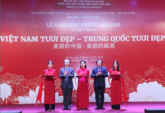 Khai mạc Triển lãm ảnh Việt Nam tươi đẹp – Trung Quốc tươi đẹp