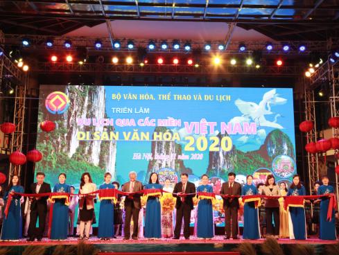 """Lễ khai mạc """"Du lịch qua các miền Di sản văn hóa Việt Nam năm 2020"""""""