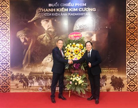 Đại sứ quán Kazakhstan tại Việt Nam chiếu phim chào mừng 29 năm Ngày Quốc khánh Kazakhstan