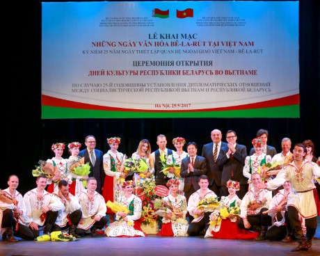 Những ngày Văn hóa Belarus tại Việt Nam năm 2017