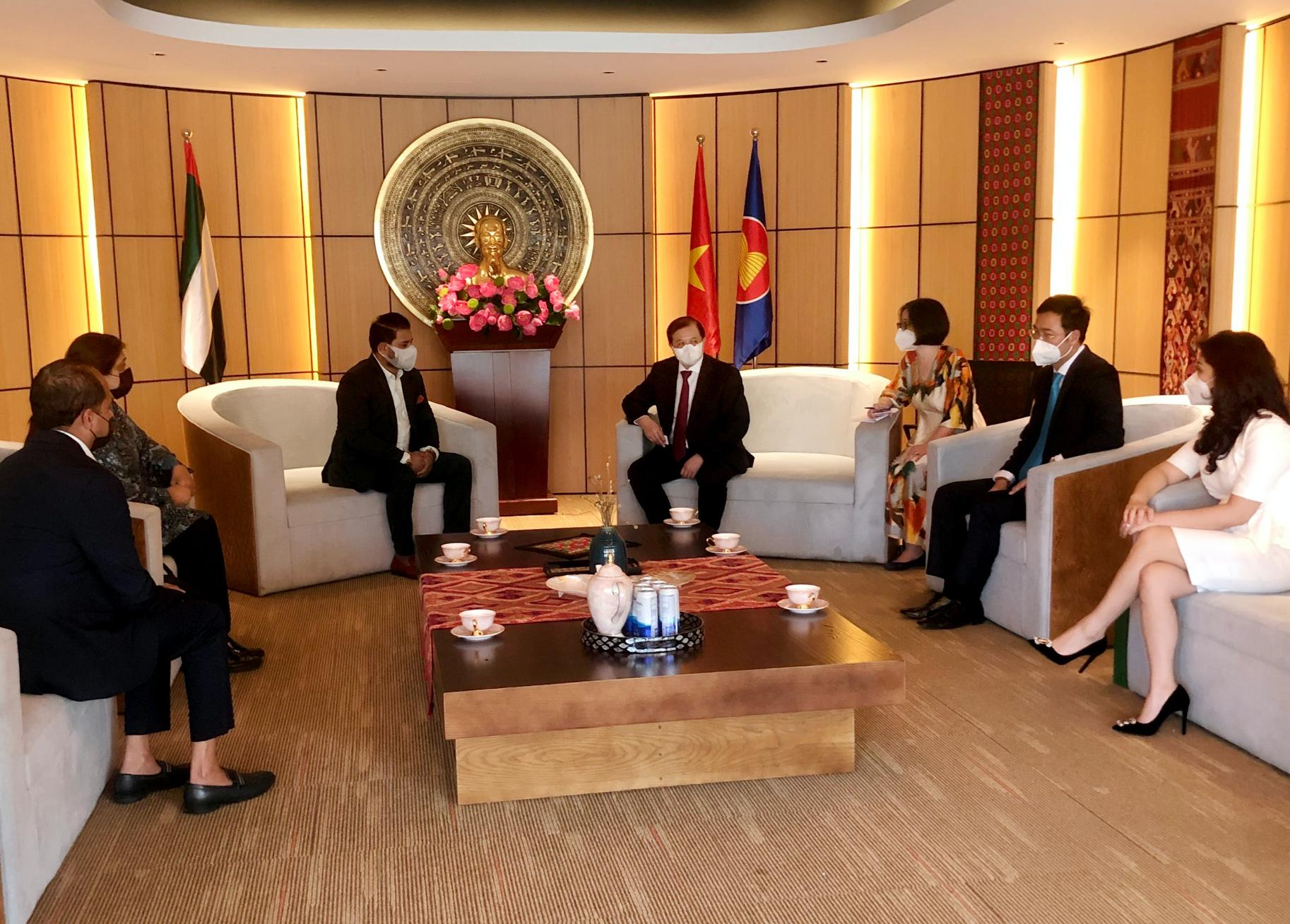 Việt Nam và UAE tăng cường hợp tác văn hoá theo chiều sâu