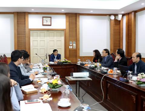 Hội nghị Tổng kết năm 2019 của Cục Hợp tác quốc tế