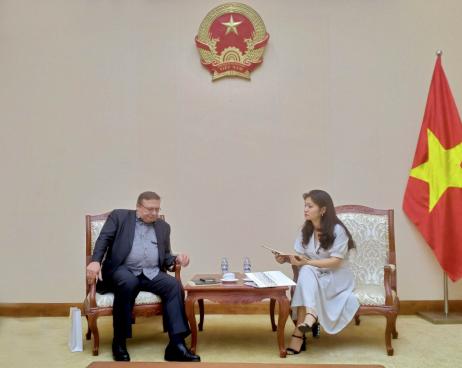 Cục trưởng Cục Hợp tác quốc tế Nguyễn Phương Hòa làm việc với  Đại sứ đặc mệnh toàn quyền Hungary tại Việt Nam