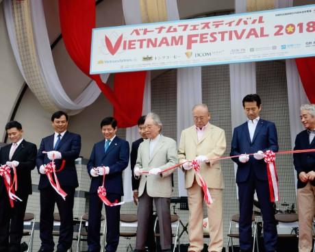 Lễ hội Việt Nam tại Tokyo, Nhật Bản 2018