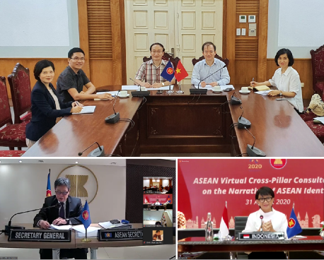 ASEAN holds virtual cross sectoral and cross pillar consultation  on ASEAN Identity narrative