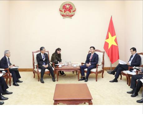 Thứ trưởng Lê Quang Tùng tiếp đoàn Hiệp hội Xúc tiến Ngoại giao Nhân dân Nhật Bản (FEC)