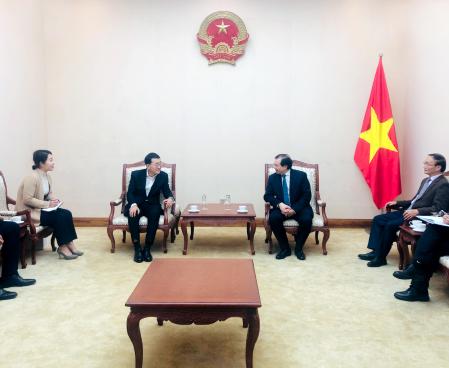 Thứ trưởng Tạ Quang Đông tiếp Chủ tịch Tập đoàn CJ Việt Nam