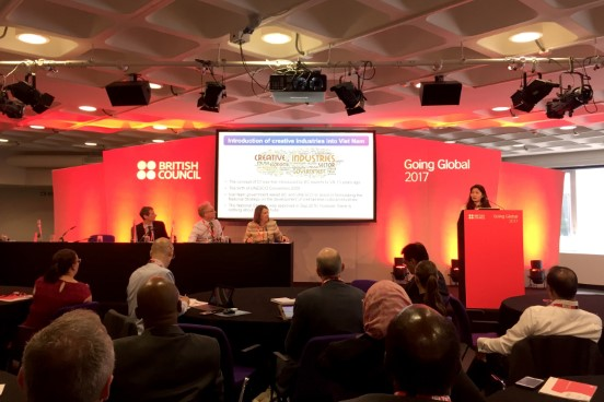 Hội nghị Giáo dục Toàn cầu Going Global 2017