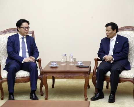 Bộ trưởng Nguyễn Ngọc Thiện tiếp Đại sứ Đặc mệnh toàn quyền Vương quốc Campuchia
