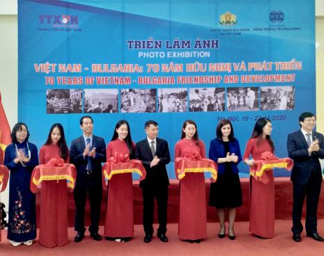 """Khai mạc Triển lãm ảnh """"Việt Nam-Bungari: 70 năm hữu nghị và phát triển"""""""