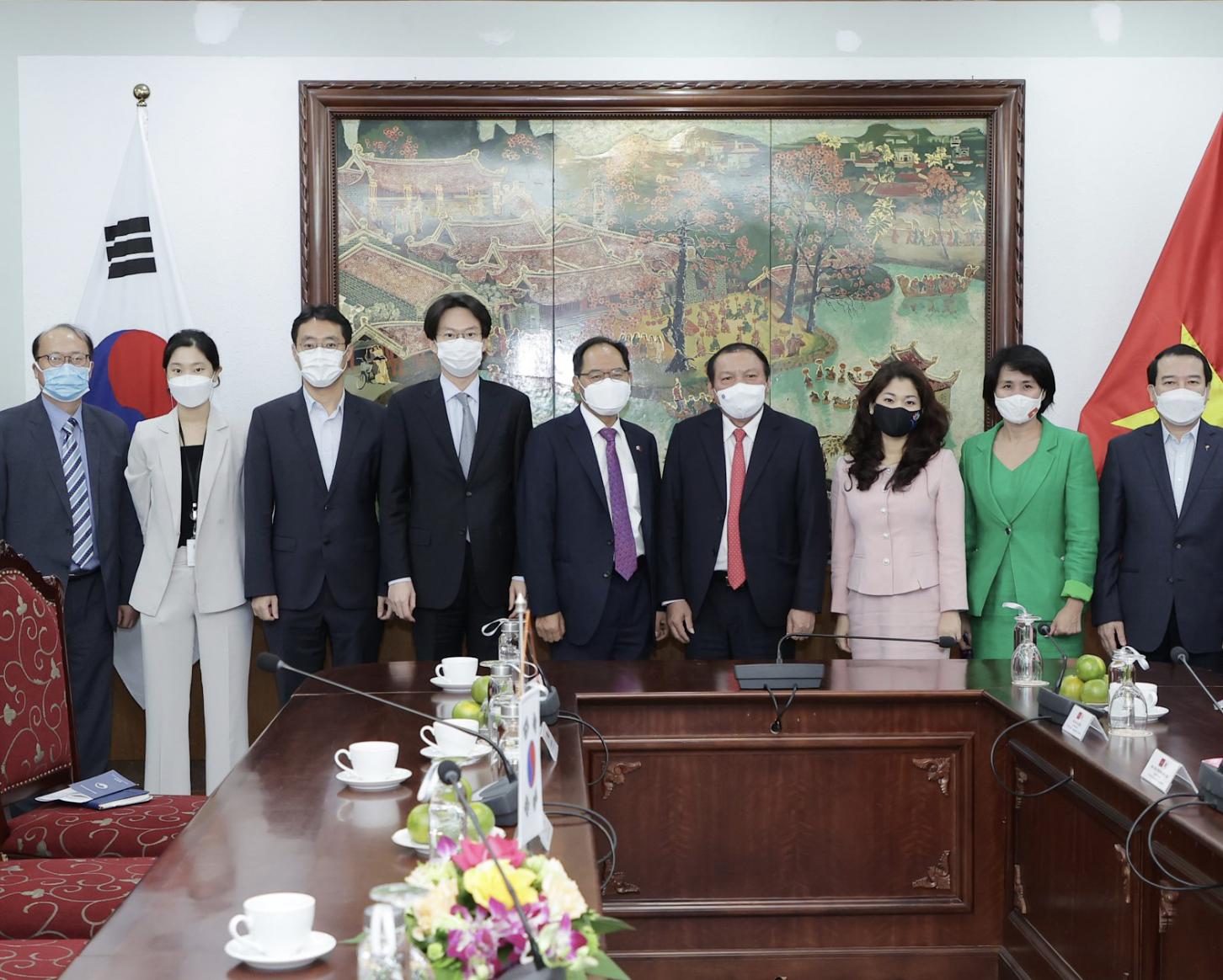 Việt Nam và Hàn Quốc phối hợp tổ chức các hoạt động giao lưu kỷ niệm 30 năm thiết lập quan hệ ngoại Việt Nam – Hàn Quốc năm 2022