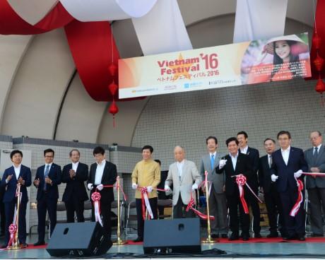 LỄ HỘI VIỆT NAM TẠI NHẬT BẢN LẦN THỨ 9 KHAI MẠC TẠI CÔNG VIÊN YOYOGI, TOKYO