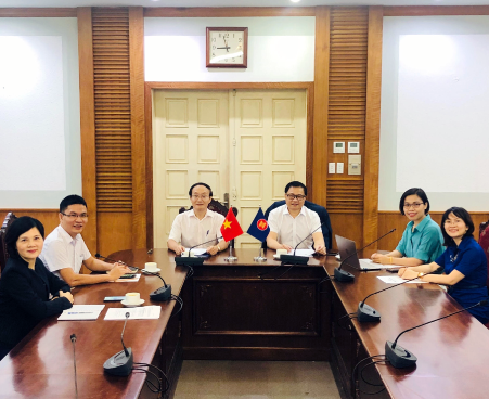 Vietnamese Delegation attends the 55th Meeting  of the ASEAN Committee on Culture and Information
