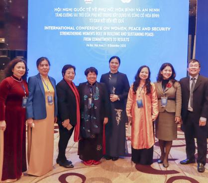 """Khai mạc """"Hội nghị Cấp cao về phụ nữ, hòa bình và an ninh"""""""