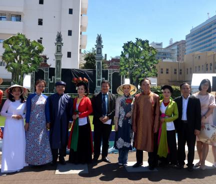 Khai mạc Lễ hội Việt Nam tại Kanagawa 2019, Nhật Bản