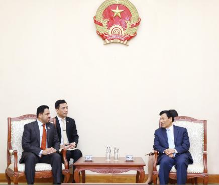 Bộ trưởng Nguyễn Ngọc Thiện tiếp Đại sứ UAE đến chào xã giao