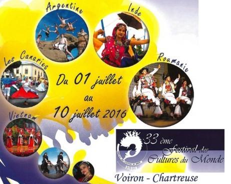 Việt Nam tham dự Festival Văn hóa thế giới tại Voiron, vùng Auvergne Rhône Alpes, Pháp