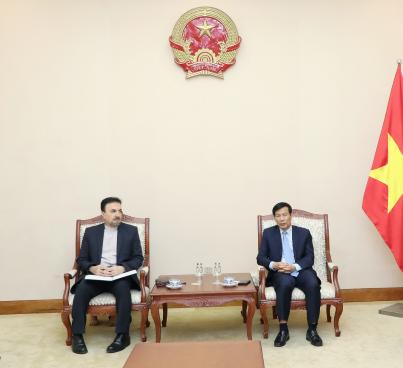 Bộ trưởng Nguyễn Ngọc Thiện tiếp Đại sứ Iran tại Việt Nam