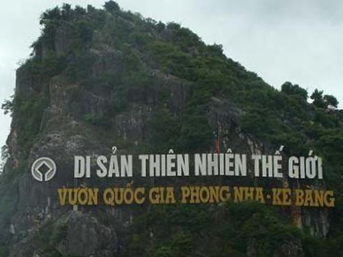 Vườn quốc gia Phong Nha - Kẻ Bàng lần thứ hai ghi danh vào Danh sách Di sản thế giới