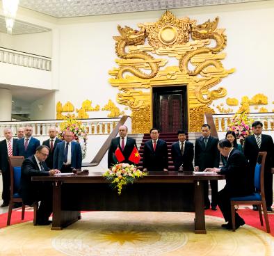 Việt Nam và Belarus ký Chương trình hợp tác Văn hoá giai đoạn 2020 - 2022