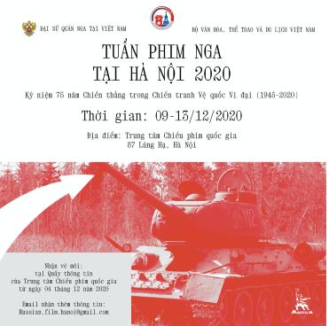 Khai mạc Tuần Phim Nga tại Hà Nội năm 2020