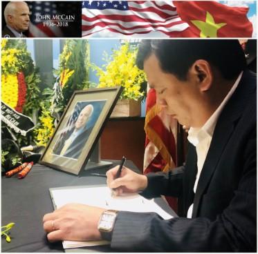 Bộ Văn hoá, Thể thao và Du lịch chia buồn với sự ra đi của Thượng nghị sỹ Hoa Kỳ John McCain