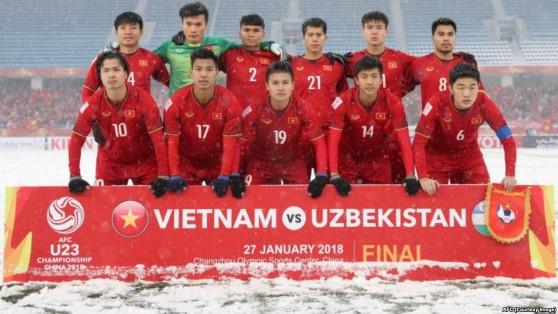 Tổng thống Hàn Quốc chúc mừng đội tuyển U23 Việt Nam