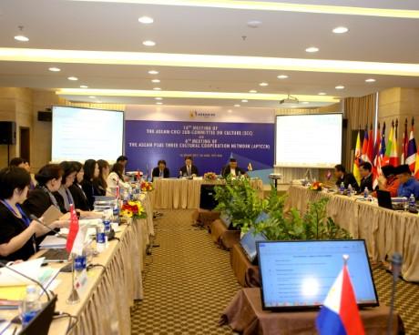 Hội nghị lần thứ 18 Tiểu ban Văn ASEAN và Cuộc họp lần thứ 6 Mạng lưới hợp tác Văn hóa ASEAN+3 khai mạc tại Việt Nam