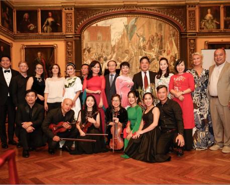 Chương trình hòa nhạc của Học viện Âm nhạc Quốc gia Việt Nam tại Tòa thị chính thành phố Malmo, Thụy Điển