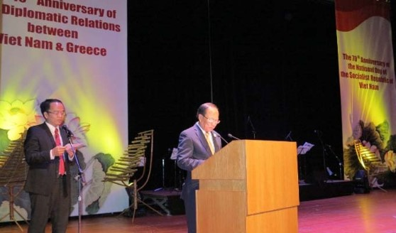 Quảng bá văn hóa, du lịch Việt Nam tới đất nước Hy Lạp