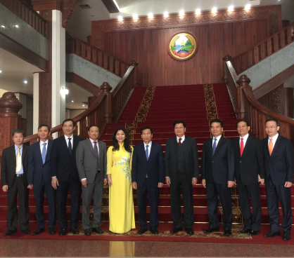 Bộ trưởng Bộ VHTTDL Nguyễn Ngọc Thiện chào xã giao Thủ tướng Chính phủ nước CHDCND Lào