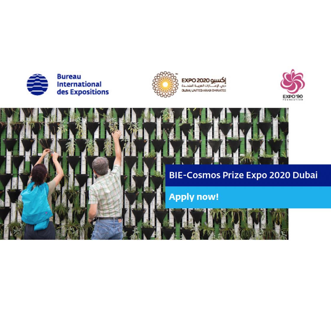 Mở đơn đăng ký tham dự Giải thưởng BIE-Cosmos, Expo 2020 Dubai