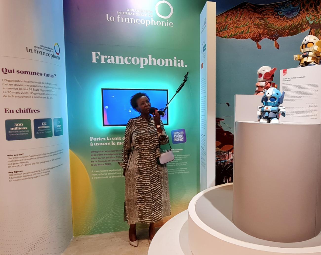 Tổng thư ký Tổ chức Pháp ngữ thăm Nhà Triển lãm Việt Nam