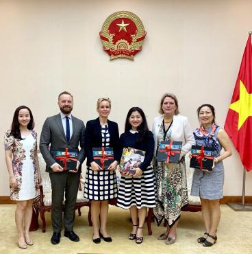 Việt Nam - Thuỵ Điển tăng cường hợp tác văn hoá, quảng bá hình ảnh quốc gia