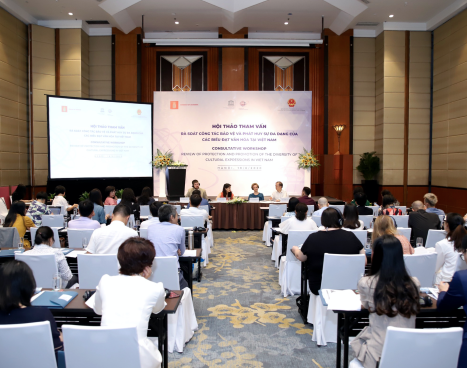 Consultative Workshop on the Review of Protection and Promotion of the Diversity of Cultural Expressions in Viet Nam.