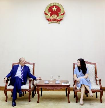 Cục trưởng Nguyễn Phương Hòa tiếp Đại sứ An-giê-ri tại Việt Nam